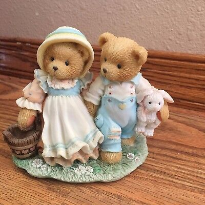 "Cherished Teddies ""Our Friendship Will Never Tumble"""