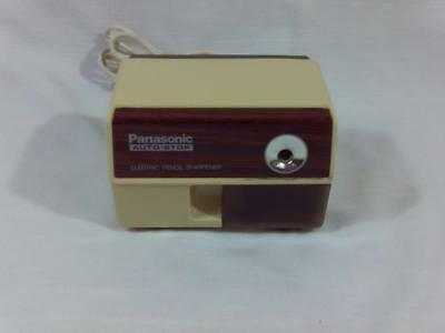 Vintage PANASONIC Auto-Stop ELECTRIC PENCIL SHARPENER KP-110
