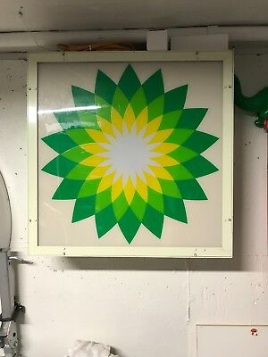 BP Collectible Sign Green Yellow