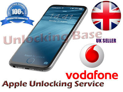 Unlocking Service For  Iphone 6S / 6S Plus / 6 / 5 Vodafone Uk  (Factory Unlock)
