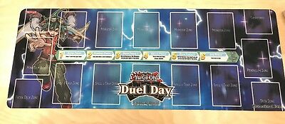 Yugioh Mat Duel Day Exclusive Playmat