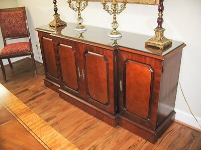 Henredon Natchez Dining Room Table Chairs Buffet Excellent Condition