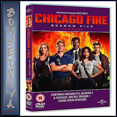 Chicago Fire - Complete Season 5 - Fifth Season   **brand New Dvd***
