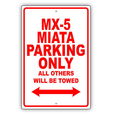 Allante Parking Only Others Towed Man Cave Novelty Garage Aluminum Metal Sign
