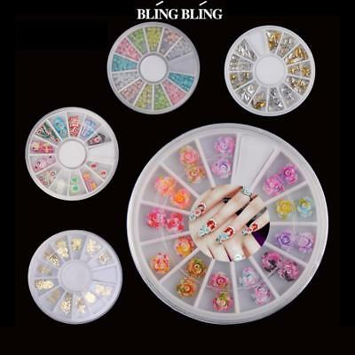 Nail Art Accessories Crystal Acrylic Christmas Wheel Decoration Manicure Tool