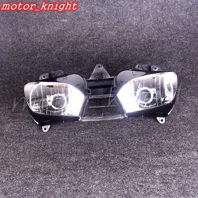 YZF R6 Front Headlight For Yamaha 1999 2000 2001 2002 Head Lamp Assembly