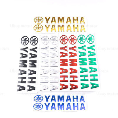 For Yamaha YZF 3D Fuel Gas Tank Fairing Pad Motorcycle Emblem Decal Stickers