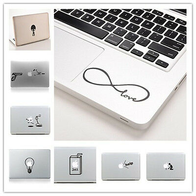 Durable Vinyl Decal Sticker Skin for Laptop MacBook Air Pro 11''~ 15'' 、New
