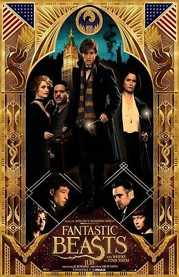 Fantastic Beasts and Where to Find Them RARE 13.5x20 Promo Movie POSTER