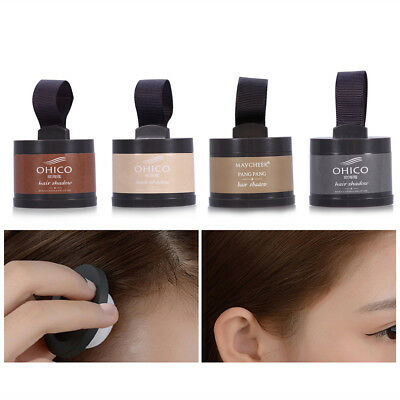 Instant Root & Regrowth Cover Up Powder Grey Hair Cover Brown Dark Brown Makeup