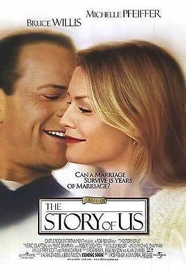 The Story of Us Original D/S  Rolled Movie Poster 27x40 Willis Pfeiffer 1999