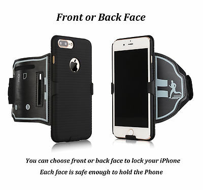 Sports Armband Case Gym Running Jogging Arm Band Strap For iPhone 6 6s 7 8 Plus