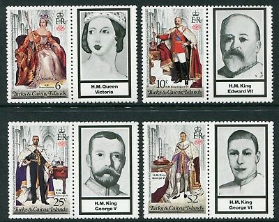 25th ANNIVERSARY CORONATION QUEEN ELIZABETH II - MNH SET OF FOUR + LABELS (R24)