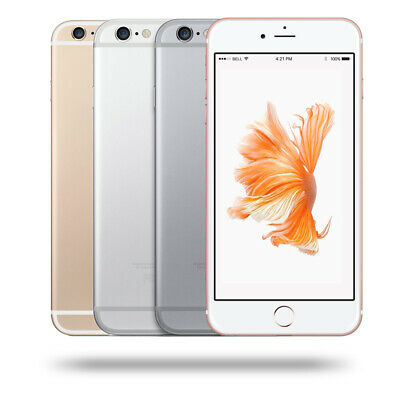 Sealed Box Factory Unlocked APPLE iPhone 6S Plus +128GB 4 Colours 1Year Wty