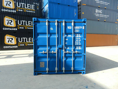 Shipping Containers 20 Ft Ral5010  Blue- 2017 London Depot