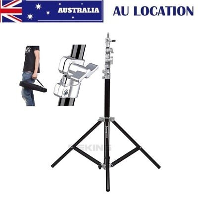 AU Selens 9.2ft 280cm Air-Cushion Light Duty Tripod Light Stand Fr Flash Softbox