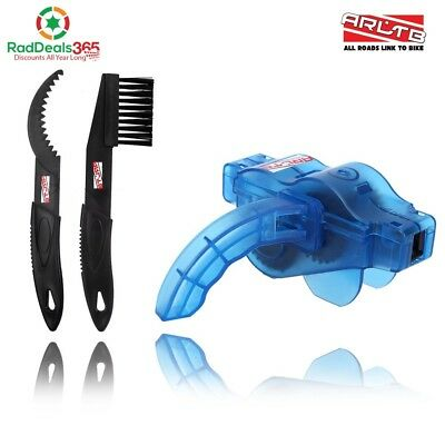 Arltb Bike Chain Scrubber Chain Brush Chain Gear Cleaner Bicycle Clean Tool Set