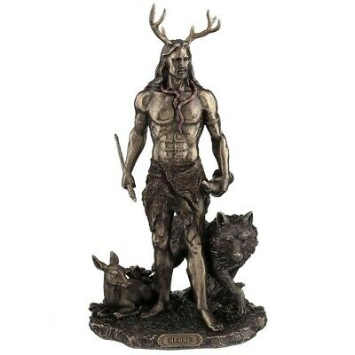 Herne the Hunter with Animals - Pagan God Statue - Wiccan statue