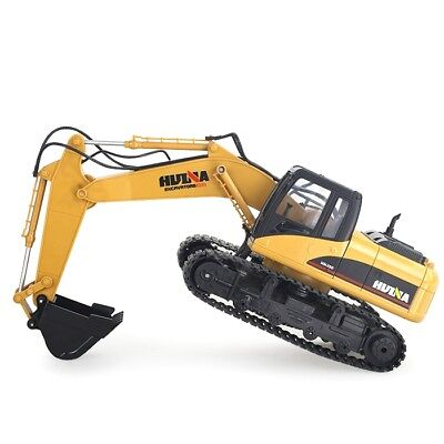 1:14 2.4GHz 15CH RC Alloy Excavator RTR Independent Arms  Auto Demonstration