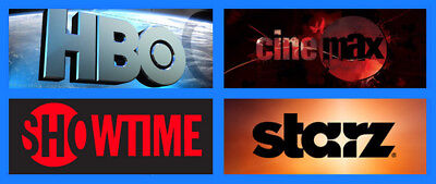 DIRECTTV (DIRECT TV) PACKAGE WITH ALL ADDON ( Starz, HBO, Cinemax and Showtime )