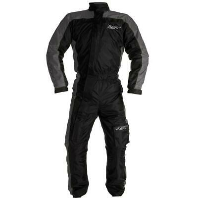 NEW RST Storm Water Proof 1 Piece Suit Black Grey from Moto Heaven