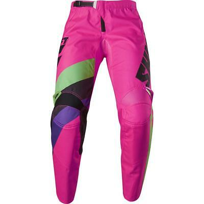 NEW Shift 2017 WHIT3 Tarmac Black/Pink Pants from Moto Heaven