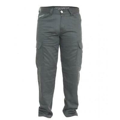 NEW RST Jeans T-126 Cargo Aramid Lined Black from Moto Heaven