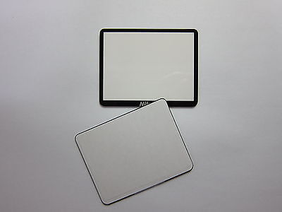 Window Display Outer Glass For Nikon D3300 LCD External Screen With tape