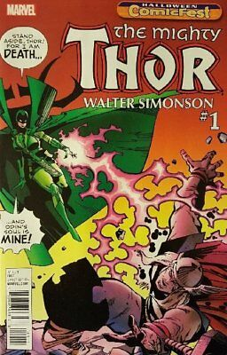 The Mighty Thor By Simonson Issue 1 - Halloween Comicfest Hcf 2017