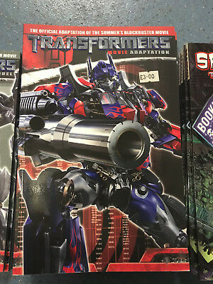 Transformers 2007 Movie Adaption Graphic Novel NEW