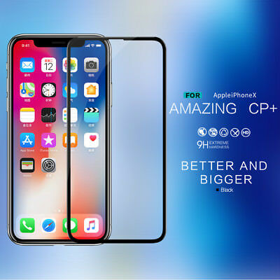 Nillkin CP+ 2.5D Full Cover Tempered Glass Screen Protectors For Apple iPhone X