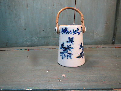 RARE ANCIEN POT A MOUTARDE FAGARD DIJON ST SAINT UZE french antique