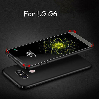 Luxury Ultra Slim Matte Hard PC Shockproof Back Cover Case For LG G3 G4 G5 G6