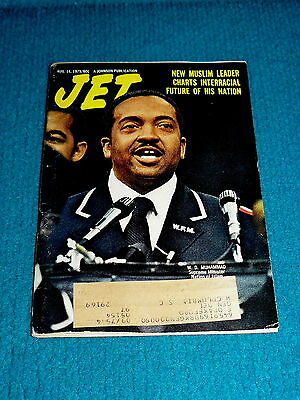 JET MAGAZINE Aug. 14, 1975 : W.D. Muhammad @ NEW MUSLIM LEADER