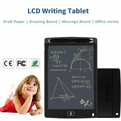 "Electronic Digital LCD Writing Pad Tablet Drawing Graphics Board Notepad 8.5"" WS"