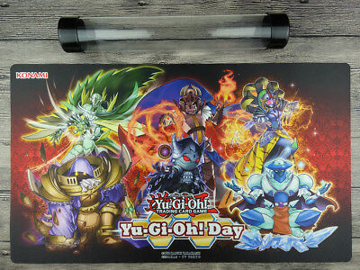 YuGiOh Monarch Playmat Custom Trading Card Game Play Mat Free High Quality Tube