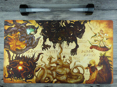 YuGiOh Elder Entity Old Entity Outer Entity TCG Playmat Free High Quality Tube