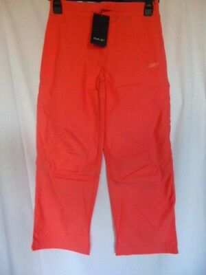 Reebok Youths Child's Girls Orange Leisure Holiday Trousers Aged 10-12 BNWT