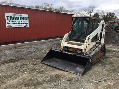 2008 Bobcat T190 Tracked Skid Steer Loader w/ Cab!