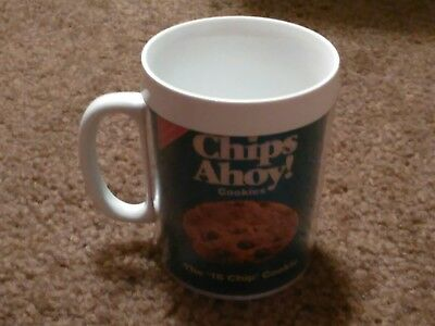 Vintage Chips Ahoy! Mug ThermoServ Nabisco Advertising Promo Moving Picture
