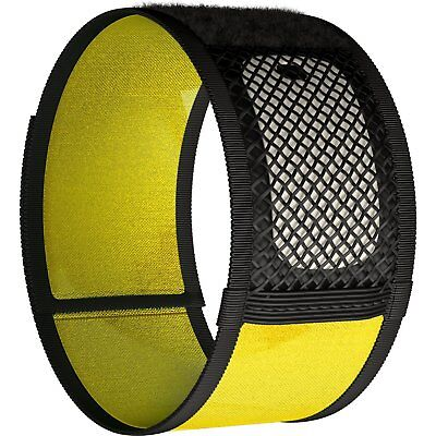 Mosquito Repellent Bracelets No Spray + 2 Repellent Refills Pest Control Yellow