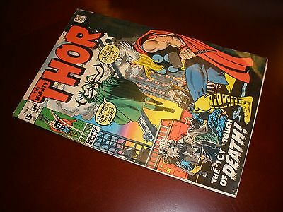 Marvel Comics Thor # 189 Nice Copy