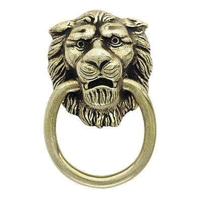 5 Pack Amerock BP888-AE Classics Lion Head Cabinet Ring Pulls in Antique Brass