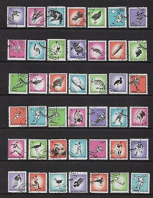 AJMAN & MANAMA - mixed collection, small stamps, Animals Birds Space Sport