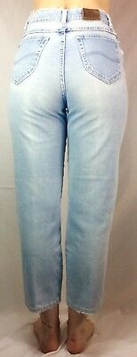 """Vintage High Waisted Naturally Distressed Lee Jeans 