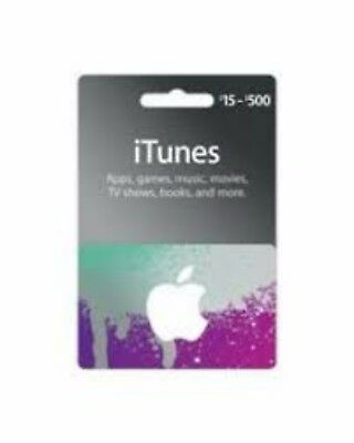 iTunes Gift Card $100.00 for Apple iTunes Store