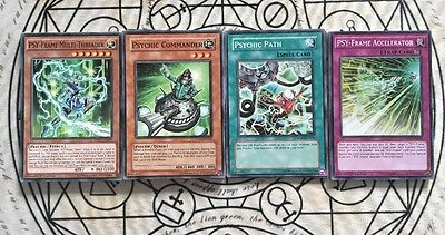 Yugioh Psychic/psyframe Deck Complete