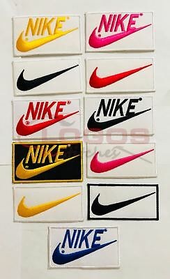 NIKE Embroidered Badge Patch Iron On Sew On Clothes Jacket Jeans Shirts Brand