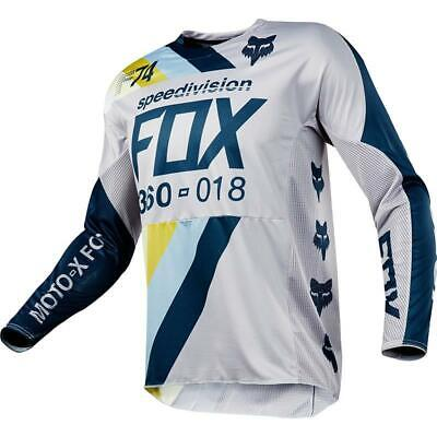 NEW Fox 2018 360 Draftr Light Grey Jersey from Moto Heaven