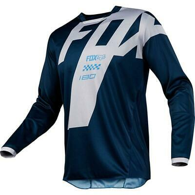 NEW Fox 2018 180 Mastar Navy Jersey from Moto Heaven